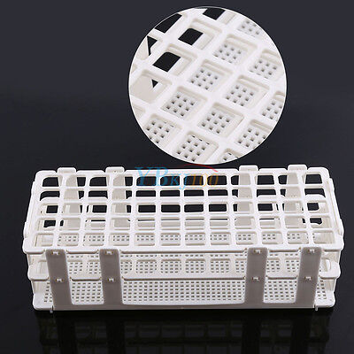 60 Positions 16mm 3 Layers Test Tube Rack Holder Storage Stand Lab Equipment New