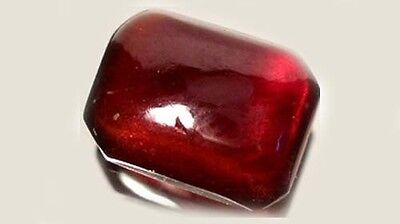 Antique 18thC 2¼ct Garnet Royal Gem of Ancient Persia Traveler's Danger Amulet