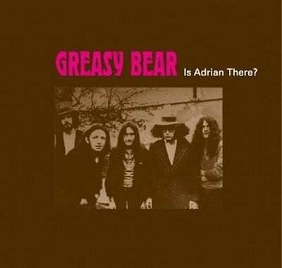GREASY BEAR - Is Adrian There ? - LP 1969 Vinyl Revival