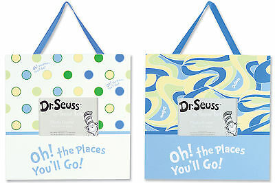 Trend Lab Frame Set - Dr. Seuss Blue Oh! The Places You'll Go!