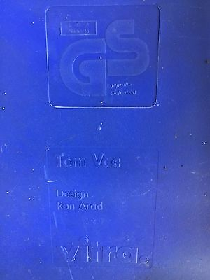 Ron Arad Vitra Tom Vac Chair £244 Authentic Blue Outdoor Or Indoor Bargain