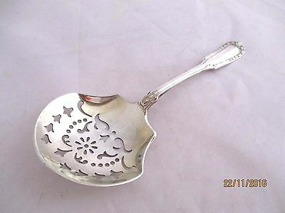 American Gorham Sterling Silver Sifter Spoon Patent 1908