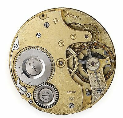 Stauffer & Son Company Importer Iwc Into The Uk Pocket Watch Movement   017