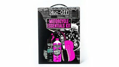 Muc Off Essentials Motorcycle Kit Gift Set ***Now Only £23.99***