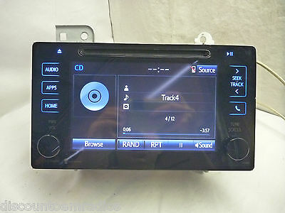 15 16 Toyota Sienna Touch Screen Display HD Radio Receiver CD 86140-08040 CYB514