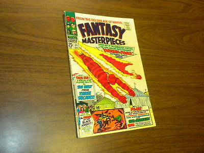 FANTASY MASTERPIECES #11 Marvel Comics 1967 Timely Captain America Torch Subby