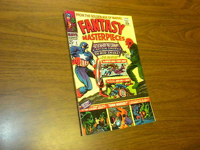 FANTASY MASTERPIECES #6 Marvel Comics 1966 Timely Captain America