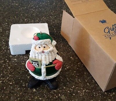 Avon Gift Collection Occupational Santa Teacher Christmas Ornament NIB