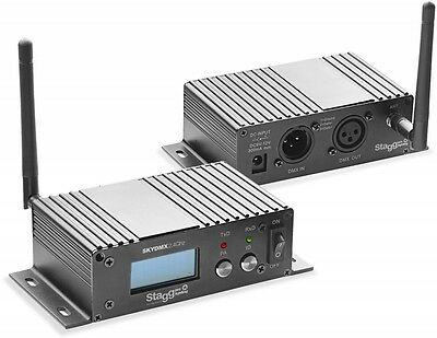 Stagg Wireless DMX SLI- SKYDMX2.4 - DMX Transceiver 2,4GHZ