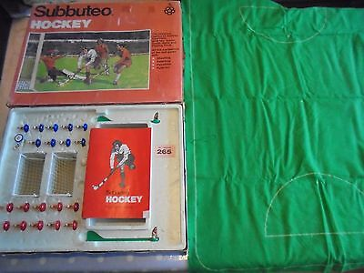 Subbuteo Table Top Hockey Game Boxed Very Rare Game lot 476
