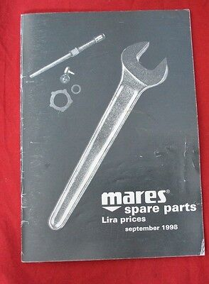 Vintage Mares Blow Up drawings Spare Parts list & Lira Prices from1998