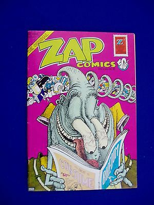 Zap 6 underground 50c cover (1st printing). FN.