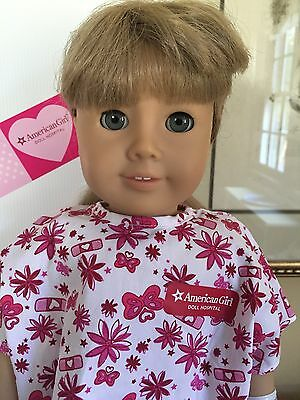 """American Girl Pleasant Company  Kirsten 18"""" Doll Just Home From Hospital! GUC"""