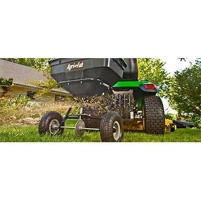 Agri-Fab 45-0215 100 lbs Max Tow Behind Broadcast Spreader, 27 x 28 x 39 in.