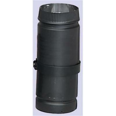 Selkirk Corporation 8 Inch DSP Double-Wall Black Stovepipe Telescoping 38 Inc...