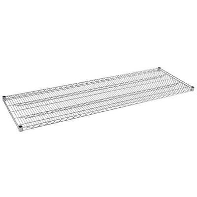 Sandusky 72 in. W x 74 in. H x 24 in. D Extra Shelf for Chrome Wire Shelving
