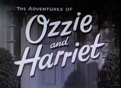 The Adventures Of Ozzie And Harriet 224 Episodes On Dvd