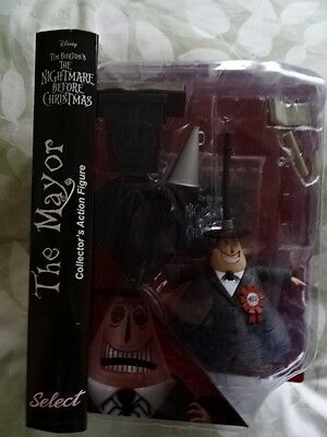 Marvel Select The Nightmare Before Christmas The Mayor Figure!!!