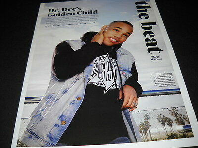 ANDERSON PAAK is DR. DRE'S Golden Child 2016 PROMO POSTER AD