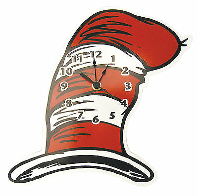Trend Lab Wall Clock - Dr. Seuss Cat In The Hat - Hat