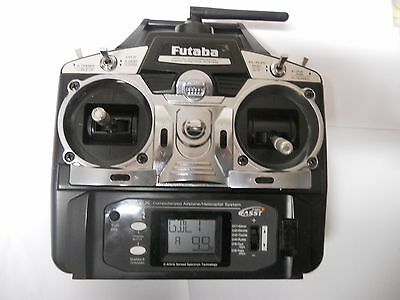 Futaba T6Ex 2.4Ghz Fasst 6 Channel Transmitter Condition Boxed
