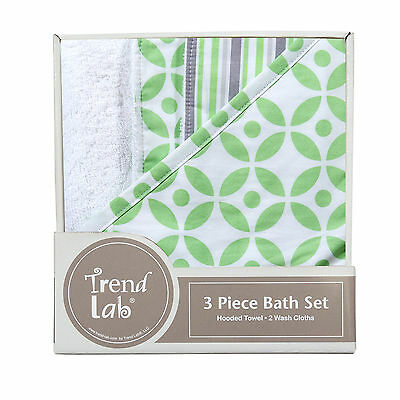 Trend Lab Lauren 3 Pack Bath Bundle Box Set