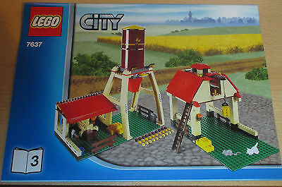Lego City - Bauplan City 7637 Teil 3  - only construction