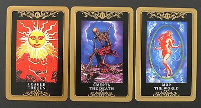 Russian Tarot Cards Deck by Victor Bakhtin, Russia Sealed