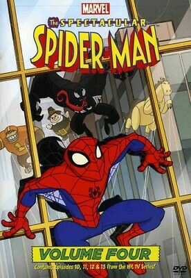The Spectacular Spider-Man: Volume 4 Four (DVD, 2009) NEW