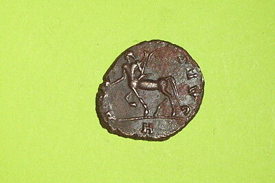 Ancient ROMAN COIN centaur GALLIENUS 253-268 AD trophy Sagittarius mythology old