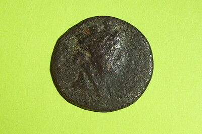 Authentic Ancient GREEK COIN 20 BC-17 AD kings of CILICIA Philopator athena nike