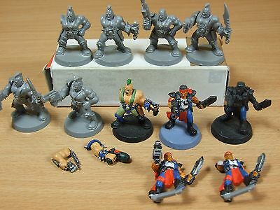 Collection Of Part Painted Necromunda Models Sold As Seen (1021)