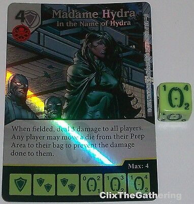 GET TO THE POINT 53 Deadpool Marvel Dice Masters Foil ELEKTRA