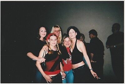 Found PHOTO Group Young Party Women Girls w/ Cigarette