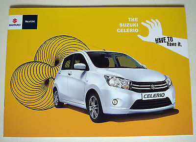 Suzuki . Celerio . The Suzuki Celerio . March 2015 Sales Brochure