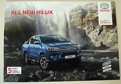 Toyota . Hilux . All New Hilux . June 2016 Sales Brochure