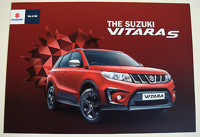 Suzuki . Vitara . The Suzuki Vitara S . January 2016 Sales Brochure
