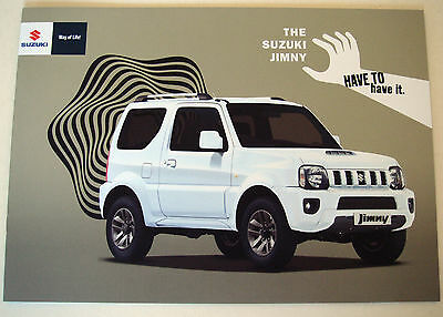 Suzuki . Jimny . January 2015 Sales Brochure