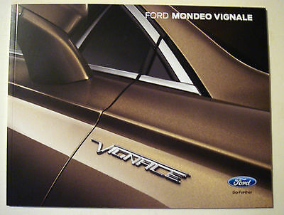 Ford . Vignale . Ford Mondeo Vignale . May 2015 Sales Brochure