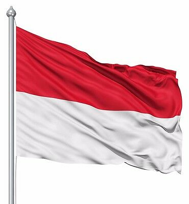 indonesia flag Indoor Outdoor 3*5FT/90*150cm Indo Flag Asian Republic Banner
