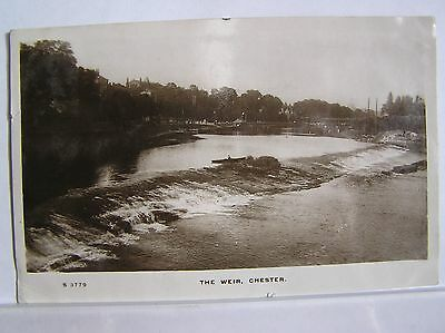 R/p Postcard - Chester - The Weir - Cheshire - 1910