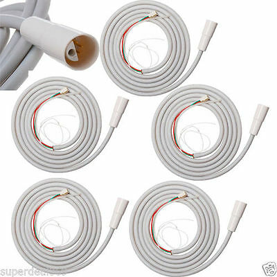 5PCS Dental Ultrasonic Scaler Handpiece Tubing Tube Hose Cable DTE SATELEC Type