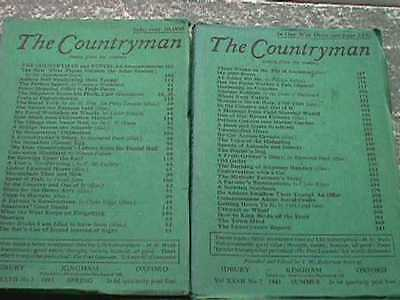 The Countryman Magazine - 4 Issues, 1943
