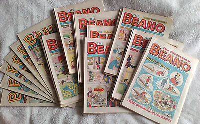 The Beano comics 1971 (x 52). Complete Year. VG-FN