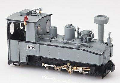 Minitrains 1022 - Brigadelok 0-8-0T, Henschel Grey - New (009/HOe Narrow Gauge)