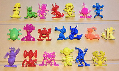R&l Cereal Toys ~ Full Set Of 20 *astronits* Scarce Colours, Mex Lot