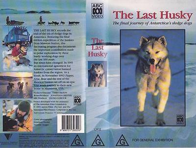 The Last Husky Abc Vhs Video Pal~ A Rare Find