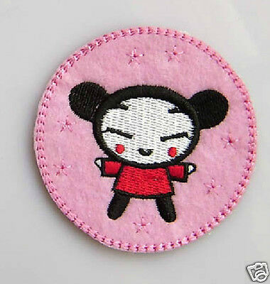 PUCCA Embroidery Iron / Sew On Patch / Applique.