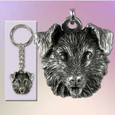 Fine Pewter BORDER COLLIE Keychain Retired CLEARANCE PRICED