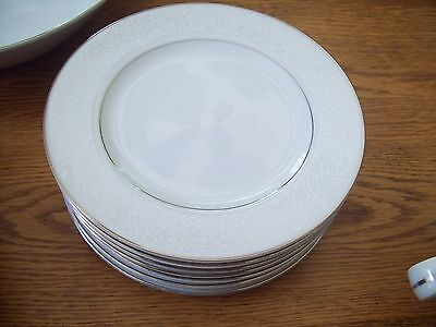 "7 International Silver Co. Fine China 364 Wakefield 6-1/2"" Bread Plates"